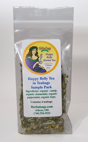 Sample Pack Happy Belly Tea