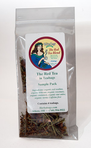Sample Pack The Red Tea