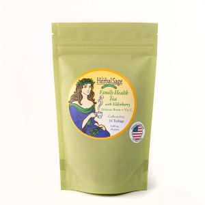 Family Health Organic Herbal Tea with Elderberry  in Teabags
