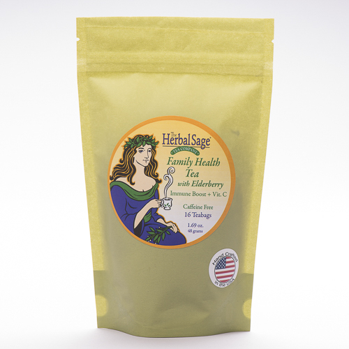 Family Health with Elderberry Teabags